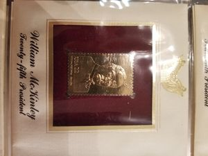 24 kt. stamp collection for Sale in Sanger, CA