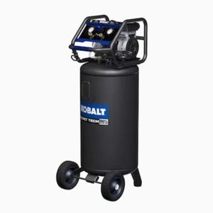 Kobalt QUIET TECH 26-Gallon Single Stage Portable Electric Vertical Air Compressor for Sale in North Las Vegas, NV
