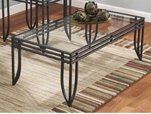 Ashley's Furniture Glass Coffee Table (New-open box) for Sale in Fairfax, VA
