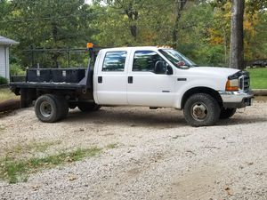 1999 f350 4x4 flatbed dually , manual for Sale in Imperial, MO