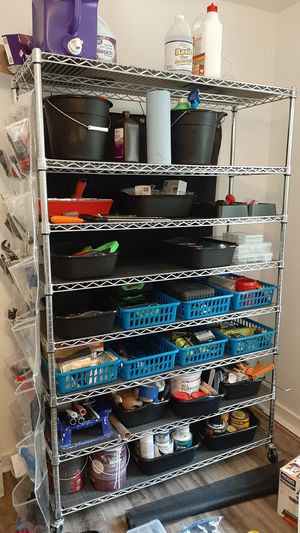 3 wire shelving carts for Sale in Midlothian, VA