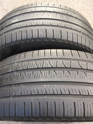 Tires 285 45 22 pirelli for Sale in Pittsburg, CA