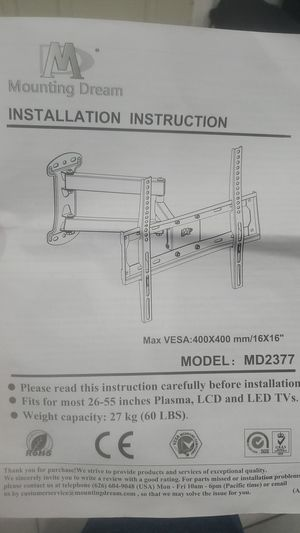 TV Wall Mount 26-55 inches new for Sale in Miami, FL
