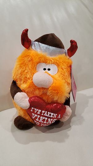 Viking Valentine's day stuffed animal. for Sale in Ontario, CA