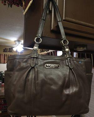Coach leather brown purse for Sale in Murrieta, CA