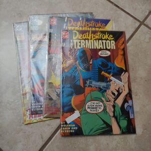 Deathstroke the terminator comic book for Sale in Gilbert, AZ