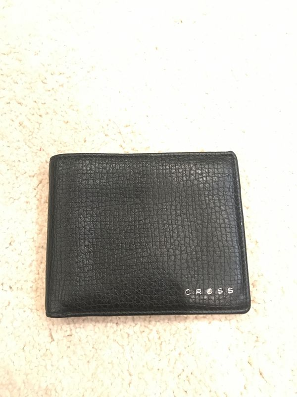 Men's Cross Wallet and $100 dollar wallet