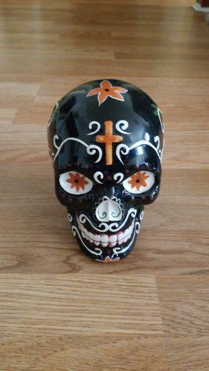 Dia de Muertos ceramic skull for Sale in Chicago, IL