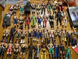 WWE ACTION FIGURES !!! RARE ONES for Sale in Hollywood, FL
