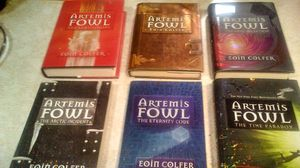 Set of 6 Artemis Fowl Collection Author Elin Colfer for Sale in Oroville, CA