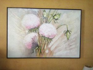 Big Tulip signed painting for Sale in Lutz, FL