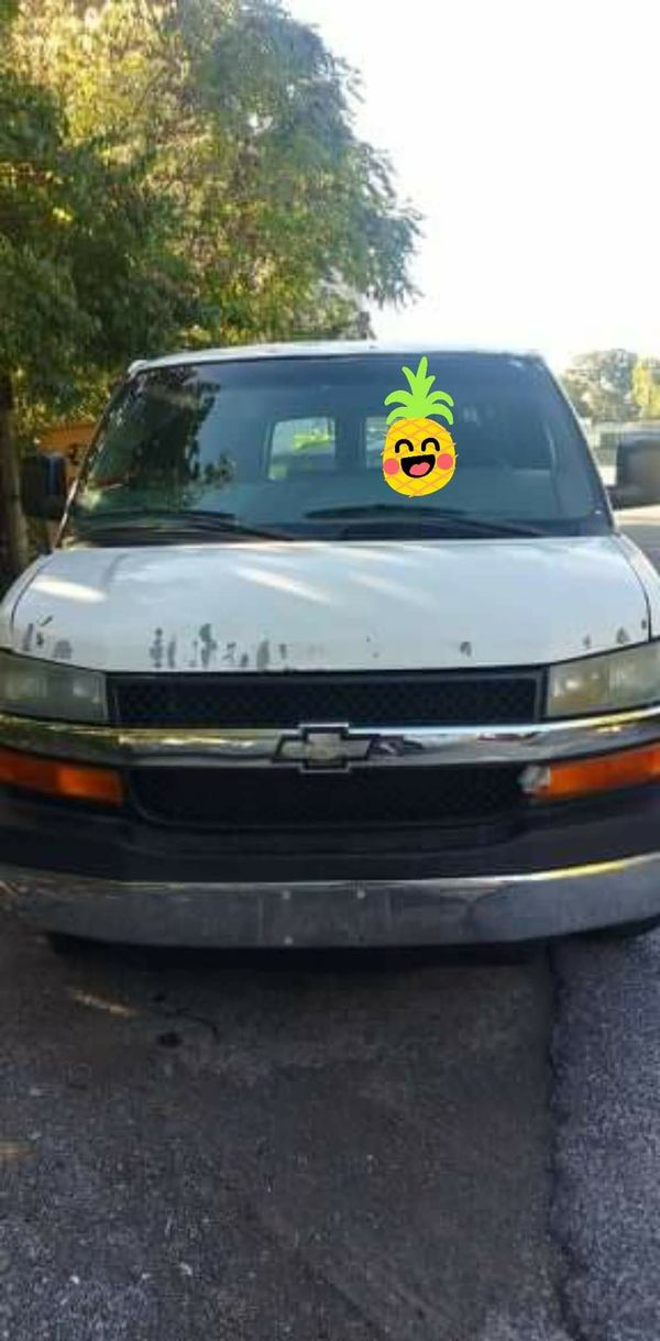 2006 Chevy express $2500 firm
