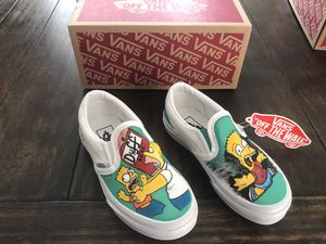 Customize Vans 11 kid size shoes for Sale in Houston, TX