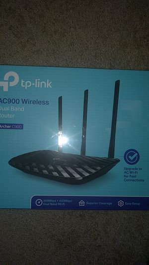 TP - Link DualBand Router - Archer C900 for Sale in Linthicum Heights, MD