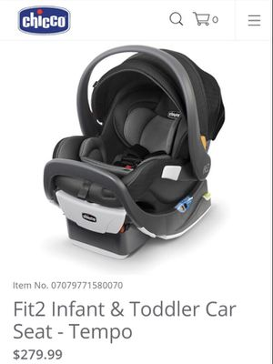 CHICCO FIT2 infant and toddler car seat new in box for Sale in Irving, TX