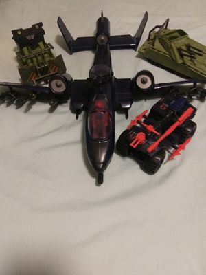 Vintage 80's GI Joe action figures and vehicles for Sale in Townville, SC