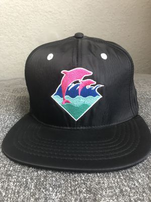 Pink Dolphin Waterproof Snapback Hat for Sale in Newark, CA