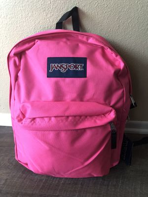 Jansport authentic backpack. New with tags!! for Sale in Fontana, CA