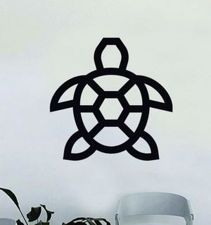 PRE MADE Wall Decal Home Decor Turtle for Sale in Signal Hill, CA