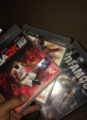 PS3 games $5 for all for Sale in Laveen Village, AZ