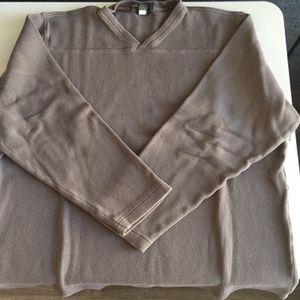 Banana Republic Mens Light Brown Vneck Sweatshirt Adult XL for Sale in Chula Vista, CA