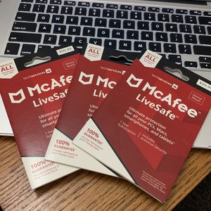 McAfee Antivirus 1 Year Subscription for Sale in Victorville, CA