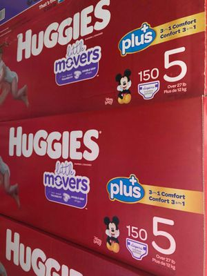 Huggies little movers size 5 for Sale in Bellflower, CA
