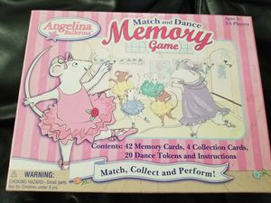Angelina Ballerina Memory Game for Sale in Cerritos, CA