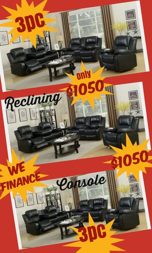 BRAND NEW 3pc SOFA LOVESEAT AND CHAIR $1050 WE DELIVER $99 for Sale in Sandy Springs, GA