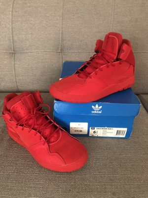 Adidas Red Shoes for Sale in Modesto, CA