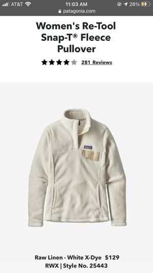 Patagonia Fleece Pullover for Sale in Ephrata, PA