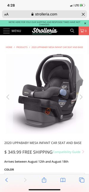 New in box uppababy Mesa car seat Jordan for Sale in Bakersfield, CA