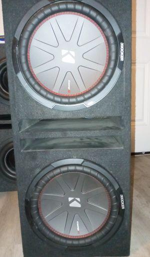 2 12s kicker comp r for Sale in Phoenix, AZ
