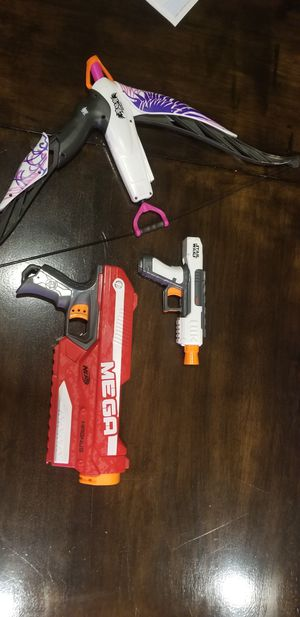 3 Nerf Guns for Sale in Tracy, CA