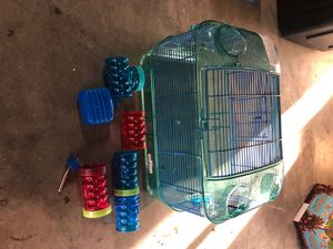 Hamster cage and Accessories for Sale in San Diego, CA