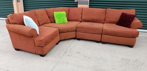 Four piece sectional couch delivery available for Sale in Norwalk, CA