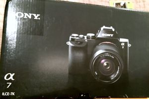 Brand New Sony ILCE7K/B 24.3 MP a7K Full-Frame Mirrorless E-Mount Camera/Lens Kit for Sale in New York, NY