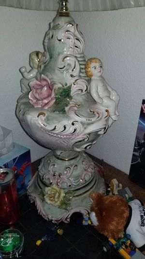 Churrub Antique lamp, made in Italy😜😜 for Sale in Hillsboro, OR