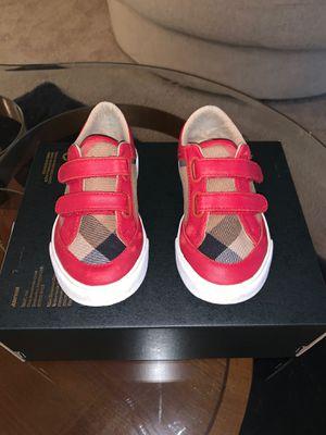 Burberry kids sneakers for Sale in Marietta, GA
