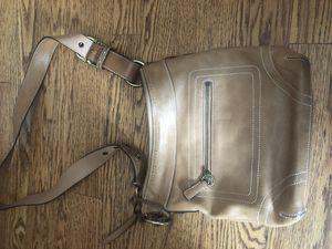 Tan coach purse for Sale in Lake Forest, IL