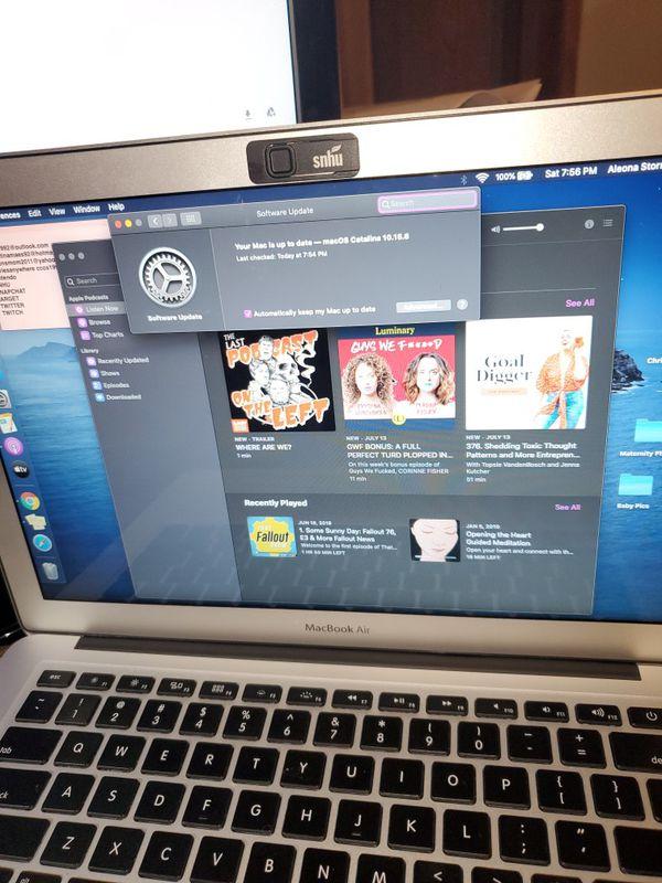 Macbook air 13 inch mid 2013