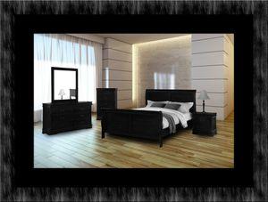 11pc black bedroom set for Sale in Hyattsville, MD