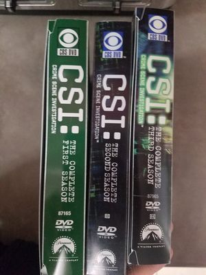 CSI :Crime Scene Investigation DVDS for Sale in Mesa, AZ