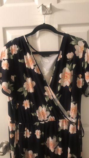 Derek Heart Plus Mock Wrap Dress-3XL for Sale in Gainesville, GA
