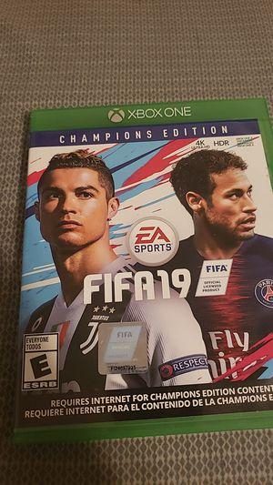 FIFA 19 (READ DESCRIPTION) for Sale in Charlotte, NC