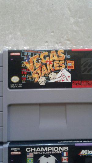 SNES GAMES. Super Nintendo for Sale in Bakersfield, CA