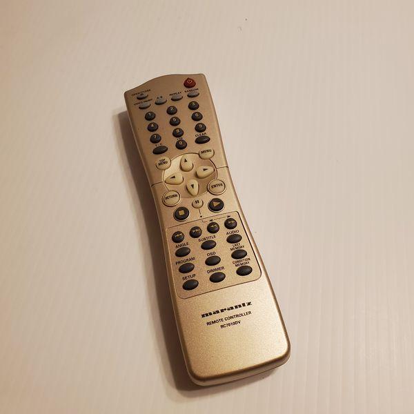 Marantz RC7010DV DVD Player Remote Control.