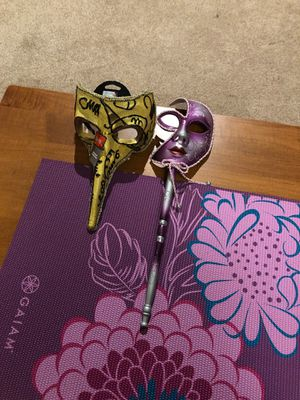 Venetian mask and face mask for Sale in Edmonds, WA