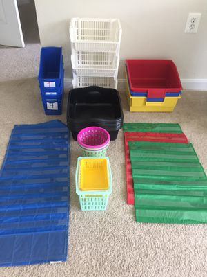 LOT OF CLASSROOM ORGANIZERS for Sale in Rockville, MD