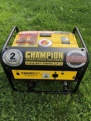 Champion 1800W Generator for Sale in Elmira, NY